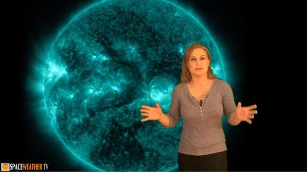 The Space Weather Girl - Dr. Tamitha Skov (WX6SWW) @ Virginia Beach Planetarium / Plaza Middle School   Virginia Beach   Virginia   United States